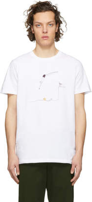 Norse Projects White Daniel Frost Edition Jump Niels T-Shirt