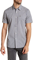 Volcom Arthur Plaid Modern Fit Short Sleeve Shirt