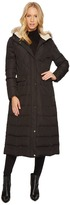 Lauren Ralph Lauren Diamond Quilt Military Maxi Down Women's Coat