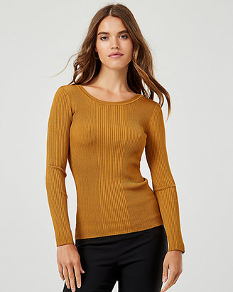 Le Château Rib Knit Crew Neck Sweater