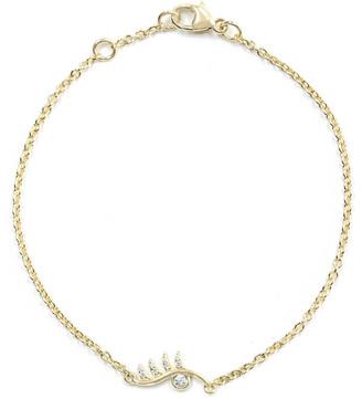 BONDEYE JEWELRY Wink Bracelet with White Diamonds