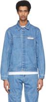Saturdays NYC Blue Denim Kurlick Jacket