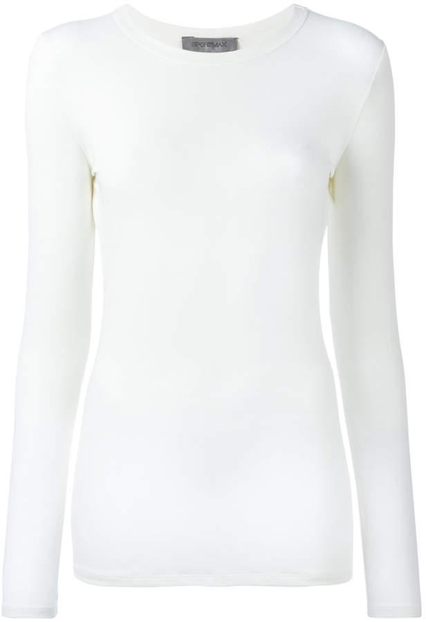 Sportmax Curvone longsleeved T-shirt