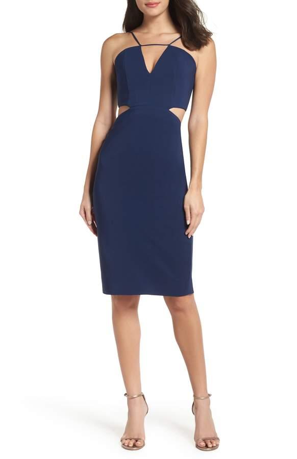 Maria Bianca Nero Melani Strappy Cutout Dress
