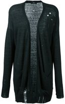 Diesel distressed cardigan