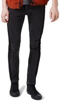 Topman Side Stripe Skinny Jeans