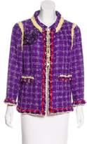 Chanel Fringed Tweed Jacket