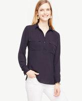 Ann Taylor Camp Shirt