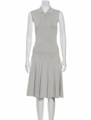 Jason Wu Midi Length Dress Grey