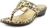 Marc Fisher Alining 2 Women US 8.5 Brown Slides Sandal