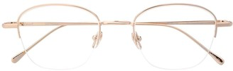 EQUE.M My Concierge half-rim glasses