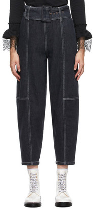 See by Chloe Blue Cocoon Jeans