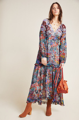 Maeve Annabella Maxi Dress By in Blue Size 0