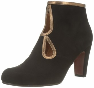 Chie Mihara Women's Kospi Ankle Boots Black (Ante Negro Picasso Bronze Negro) 4 UK