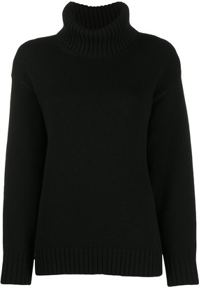 Valentino Roll-Neck Knitted Jumper