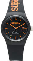 Superdry 3 Hands;Matte Black Dial;No Stones