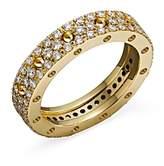 Roberto Coin 18K Yellow Gold Pois Moi Diamond Pave Ring
