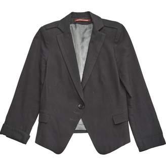 Comptoir des Cotonniers Black Wool Jackets