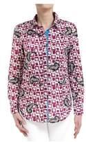 Suoli Women's Multicolor Cotton Shirt.