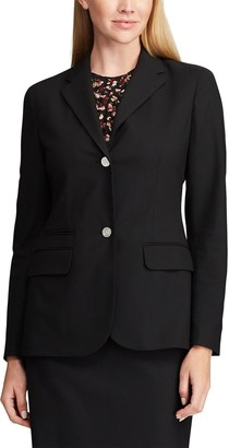 Chaps Women's Weekday Ready Notch Collar Blazer