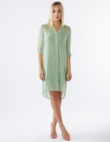 Nightshade Shirt Dress With Slip