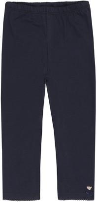 Steiff Baby Girls 0-24m 0006866 Leggings Blue Marine 18-24 Months (Size:92)