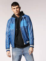 Diesel Leather jackets 0DASF - Blue - XL