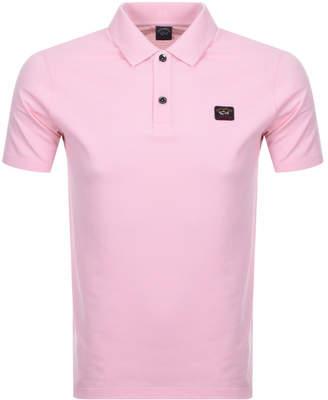 Paul & Shark Paul And Shark Short Sleeved Polo T Shirt Pink