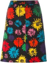 Moschino floral print skirt - women - Polyamide/Acetate/Rayon/other fibers - 42