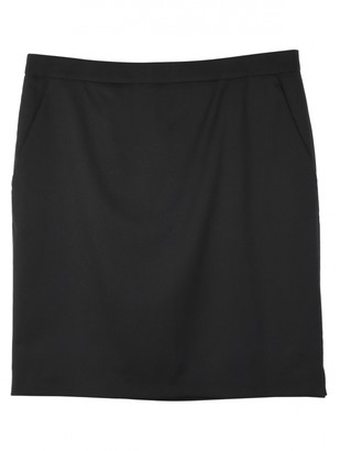 Mulberry Black Wool Skirts