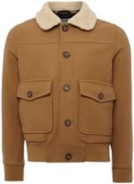 Peter Werth Men's Caff Blouson Button Bomber Jacket