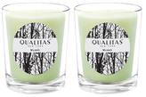 Qualitas Candles Myrrh Beeswax Candles (Set of 2) (6.5 OZ)