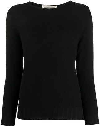 Lamberto Losani Long-Sleeve Fitted Jumper