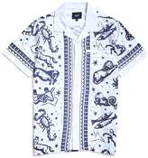 HUF Zodiac Short Sleeve Shirt White