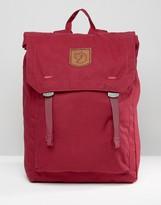 Fjäll Räven Foldsack 16L Backpack In Burgundy