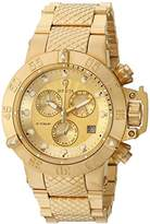 Invicta Women's 'Gabrielle Union' Quartz and Stainless Steel Casual Watch, Color:Gold-Toned (Model: 23177)
