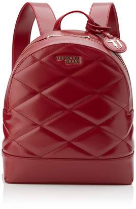 Trussardi Jeans T-easy City Quilt Backpack Md Womens Backpack