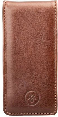 Maxwell Scott Bags Maxwell Scott Luxury Leather Phone Flip Case - Renato Tan