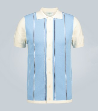 Casablanca Leblon knitted cotton shirt