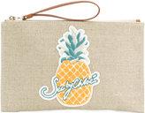 See by Chloe pineapple clutch bag
