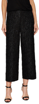 Akris Caro Textured Cropped Pant