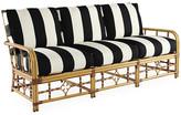 Lane Venture Celerie Kemble For Mimi Sofa - Black/White Stripe