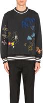 Vivienne Westwood Man Children Embroidery Felpa