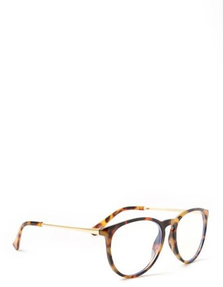 francesca's Betty Blue Light Eyeglasses - Tortoise