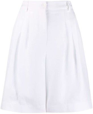 Piazza Sempione Tailored Knee-Length Shorts