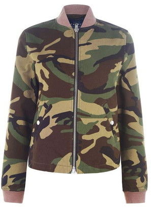 Jack Wills Maltby Camo Jacket