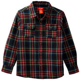 Joe Fresh Yarn Flannel Shirt (Big Boys)