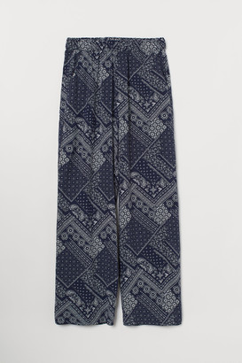 H&M Wide-cut Pull-on Pants