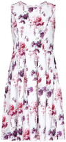 Yumi Occasion Flower Print Prom Dress