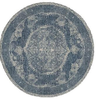 Pottery Barn Barret Hand Loomed Wool Rug - Porcelain Blue